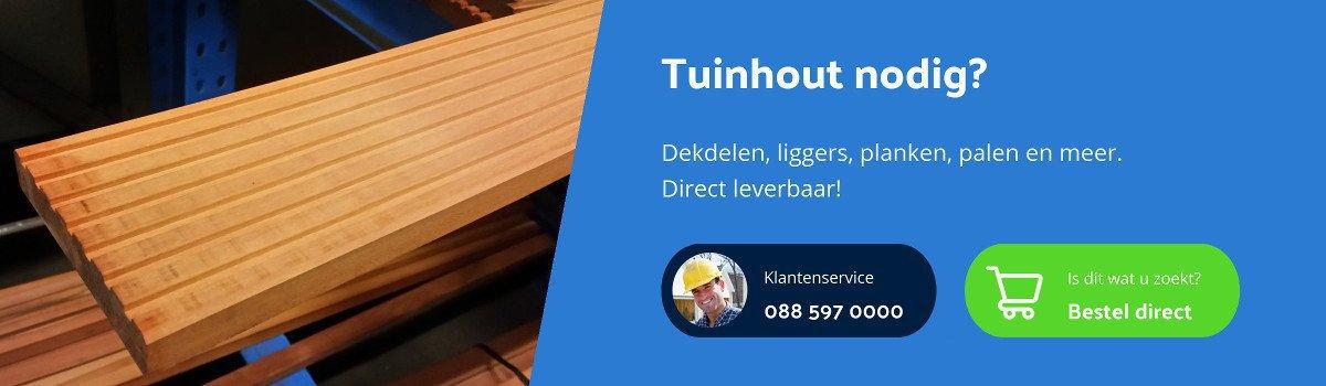 Tuinhoutprofi online shop voor tuinhout
